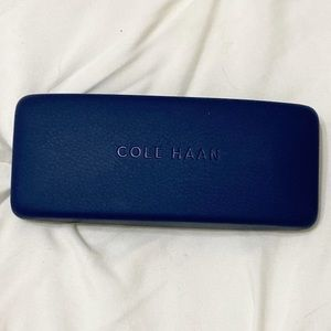 Cole Haan Blue Eyeglass Case